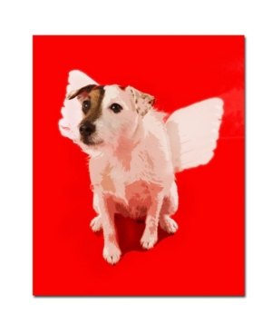 "Gifty Idea Greeting Cards and Such! 'Jack Angel' Canvas Art - 14"" x 19"""