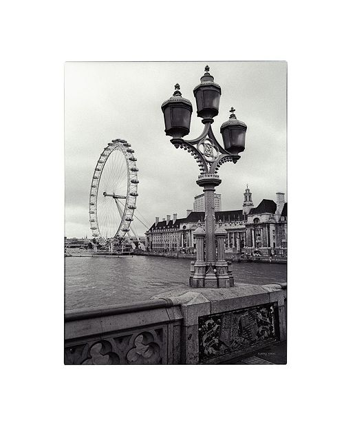 "Trademark Global Kathy Yates 'London Eye' Canvas Art - 14"" x 19"""