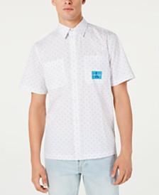 Calvin Klein Jeans Men's Prairie-Print Shirt