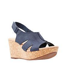 Clarks Collection Women's Annadel Bari Wedge Sandals
