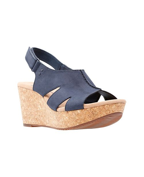308bd898e0f8 Clarks Collection Women s Annadel Bari Wedge Sandals   Reviews ...