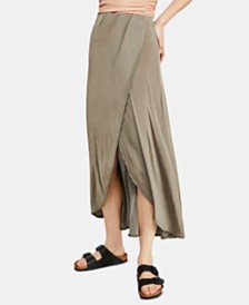 Free People Smoke And Mirrors Maxi Skirt