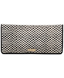 Brahmin Ady Black Tala Leather Wallet