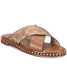 COACH Hailey Flat Sandals