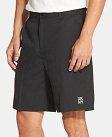 DKNY Men's Modern Flat-Front Shorts