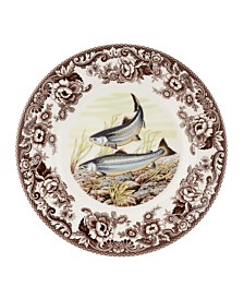 Spode Woodland King Salmon Dinner Plate