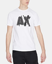 A|X Armani Exchange Men's Logo T-Shirt Created For Macy's