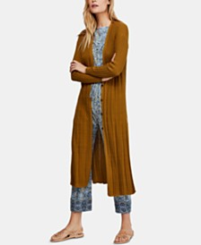 Free People Skinny Mini Duster Cardigan