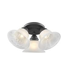 Livex Edgemont 3-Light Ceiling Mount