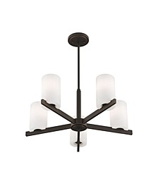 CLOSEOUT!   Astoria 5-Light Chandelier