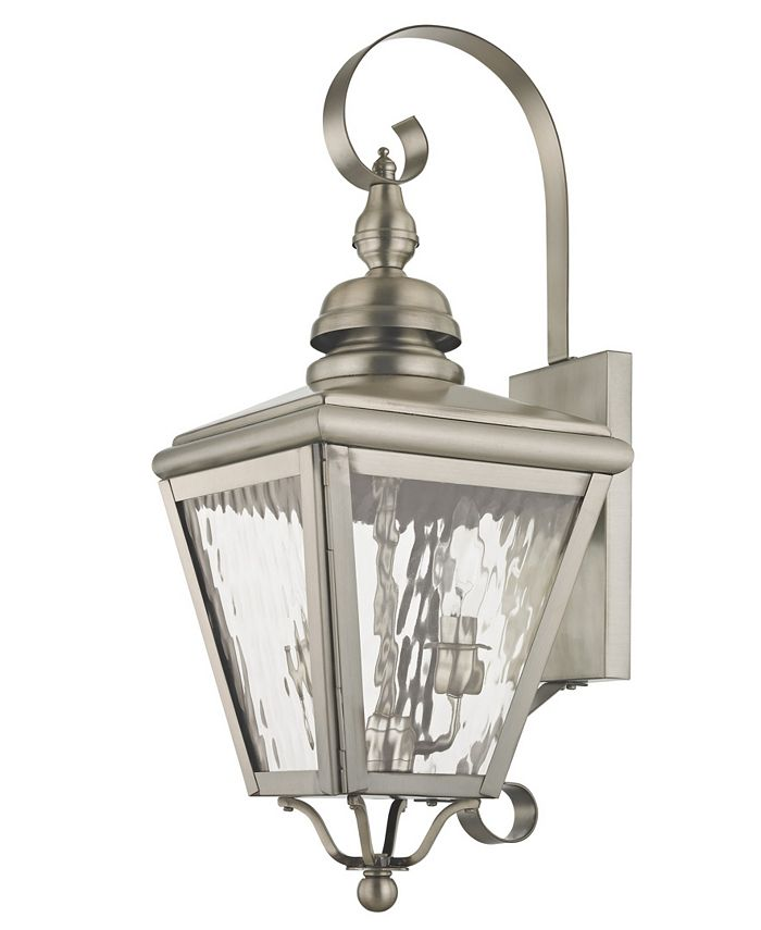 Livex - Cambridge 2-Light Outdoor Wall Lantern