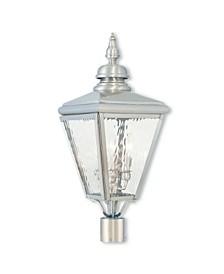 Cambridge 3-Light Outdoor Post Top Lantern