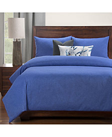 Siscovers Wooly Cobolt 6 Piece Full Size Luxury Duvet Set