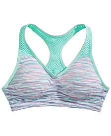 Little & Big Girls Padded Racerback Sports Bra
