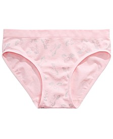 Little & Big Girls Unicorn-Print Seamless Hipster Underwear