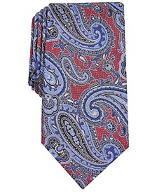 Men's Paisley Silk Tie, Created for Macy's