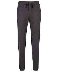 BOSS Men's Banks3-J Cropped Slim-Fit Trousers