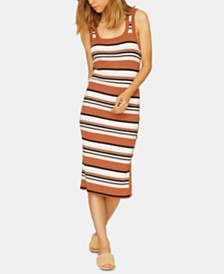Sanctuary Sheyna Striped Sleeveless Sweater Dress