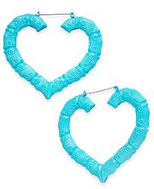 Thalia Sodi Heart Hoop Earrings, Created for Macy's