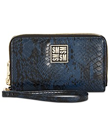 Megan Double Zip Wallet