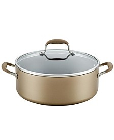 Advanced Home Hard-Anodized 7.5-Qt. Nonstick Wide Stockpot