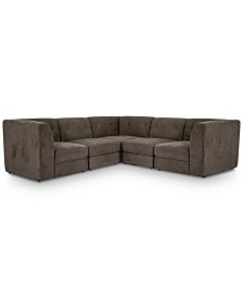 Bradford 5-Pc. Fabric Modular Sectional Sofa
