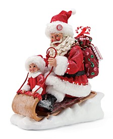 Possible Dreams Santa Snow Much Fun Figurine