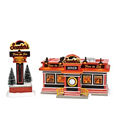 Scooter'S Diner Figurines