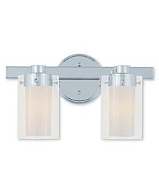Manhattan 2-Light Bath Vanity Fixture