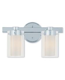 Livex Manhattan 2-Light Bath Vanity Fixture