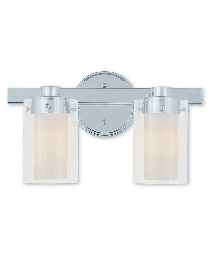 Livex - Manhattan 2-Light Bath Vanity Fixture