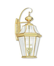 CLOSEOUT!   Georgetown 2-Light Outdoor Wall Lantern