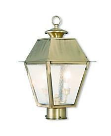Mansfield 2-Light Outdoor Post Lantern