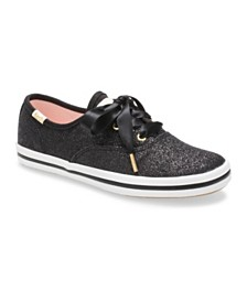 Keds Toddler & Little Girls Keds x Kate Spade Champion Glitter Sneaker