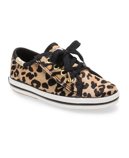 Keds Toddler Girls Keds x Kate Spade Seasonal Jr. Sneaker in Leopard