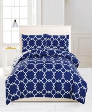Greyson Reversible 3-Pc. King Comforter Set Bedding