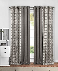 "Kaelee 37"" x 84"" 4-Piece Curtain Set"
