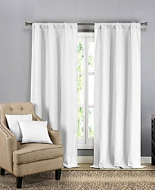 Bycine 4-Piece Curtain and Pillow Cover Set