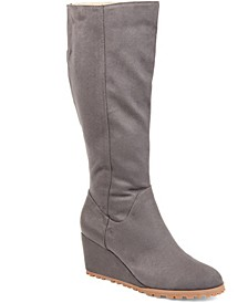 Women's Extra Wide Calf Parker Boot