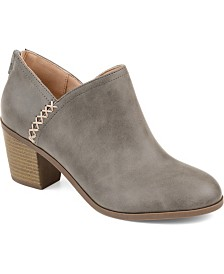 Journee Collection Women's Comfort Manda Bootie