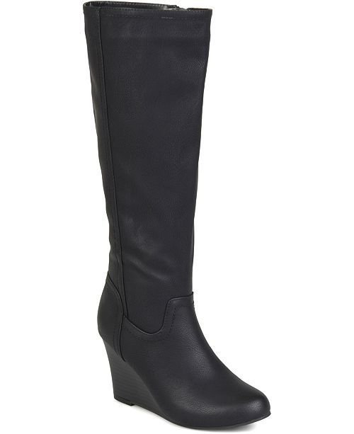 Journee Collection Women's Wide Calf Langly Boot