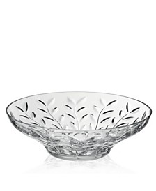 Lorren Home Trends RCR Laurus Crystal Round Bowl