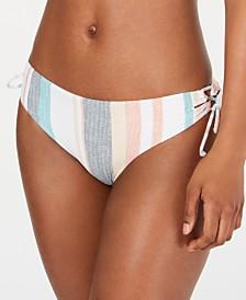 Roxy Juniors' Beach Striped Bikini Bottoms
