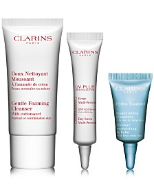 Receive a FREE 3pc Skin Care Gift with $75 Clarins Purchase!