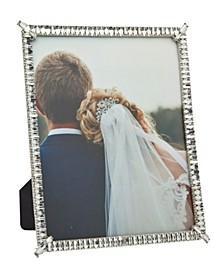 Silver Diamond Row Frame - 8x10