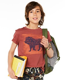 Epic Threads Big Boys Walking Lion T-Shirt, Created for Macy's