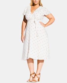 City Chic Trendy Plus Size Sweet Doll Dress