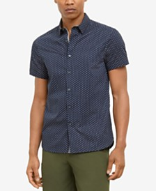 Kenneth Cole New York Men's Star Print Shirt