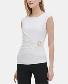 Calvin Klein Embellished Top