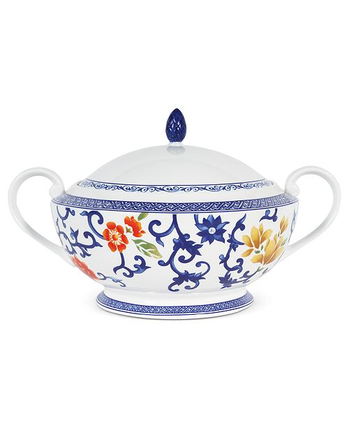 Lauren Ralph Lauren Dinnerware, Mandarin Blue Covered Casserole